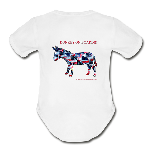 "Biden/Harris An Awesome ""This is America"" Baby Bodysuit! - white"