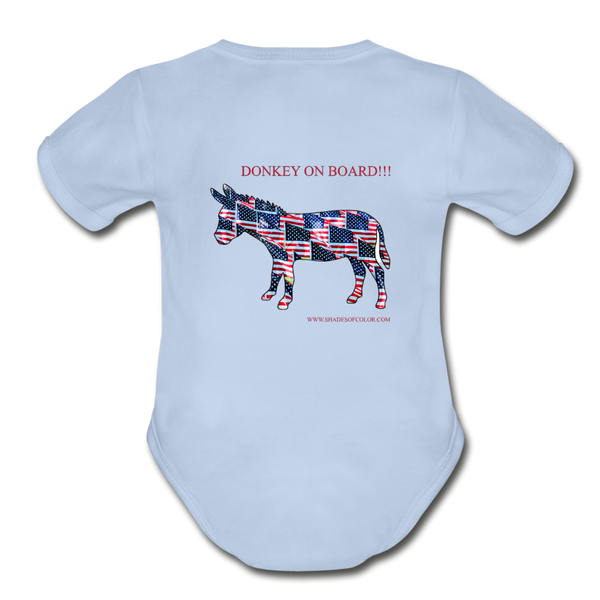 "Biden/Harris An Awesome ""This is America"" Baby Bodysuit! - sky"
