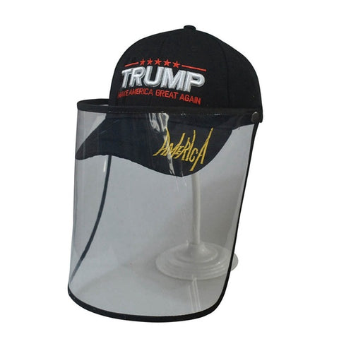 Trump Hat Detachable Anti spitting Face Protective