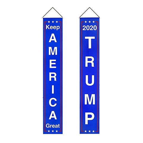 Donald Trump Flag Banner