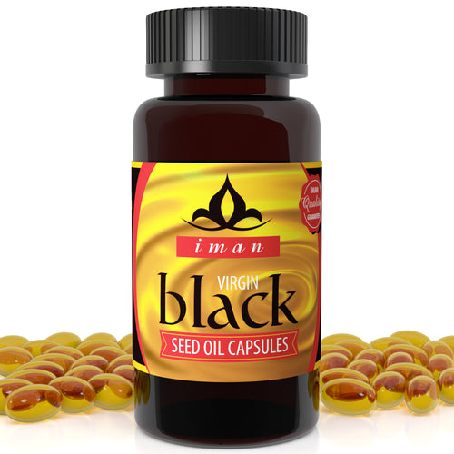 Black Seed Oil (60 Capsules) - High-TQ, MAX Strength 500mg Cold-Pressed - USDA Organic - Non-GMO, Natural, 100% Virgin - 500mg 60 Capsules…