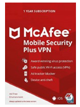 Mcafee Mobile Security Plus VPN