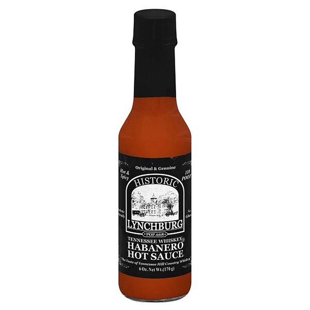 Historic Lynchburg Habanero Hot Sauce (6 oz.)