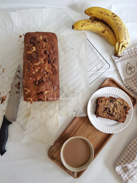 Handcrafted Banana Loaf