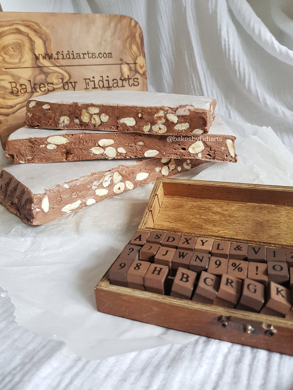 Almond, Hazelnut & Chocolate Nougat