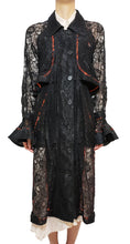 Load image into Gallery viewer, 'TC003' Lace trench coat