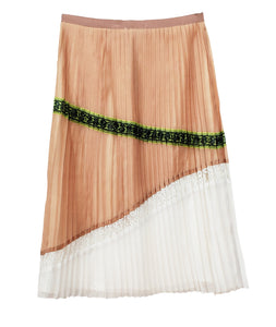 'El Mirador' Pleated skirt