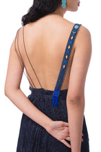 Load image into Gallery viewer, 【New Collection】Triangular slip dress with Huichol artisan beads