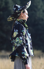 Load image into Gallery viewer, 【Pre-order】Mexican flower print puff sleeve Bomber Jacket
