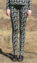 Load image into Gallery viewer, 【Pre-order】Mexican flower print jersey leggings