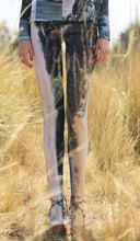Load image into Gallery viewer, 【Pre-order】Mexican landscape print hight-neck jersey Leggings