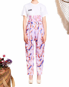 'VS003 'Unity print dress pants