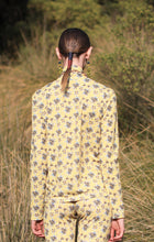 Load image into Gallery viewer, 【Pre-order】Mexican flower print high-neck jersey Top