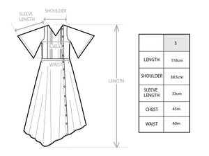'2D001' Two-way dress