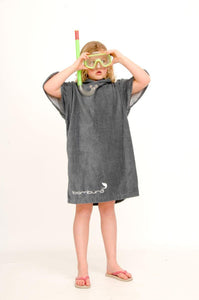 Charcoal original unisex changing robe