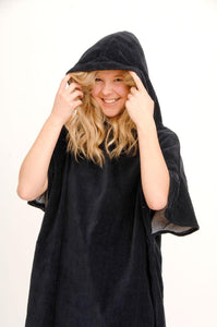Navy original unisex changing robe