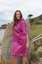 Load image into Gallery viewer, Pink organic cotton changing robe - Bombura Changing Robes