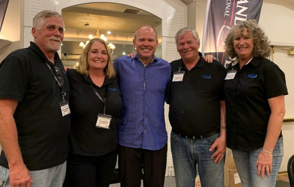 RV Airflow Systems Team with Grand Design CEO Don Clark