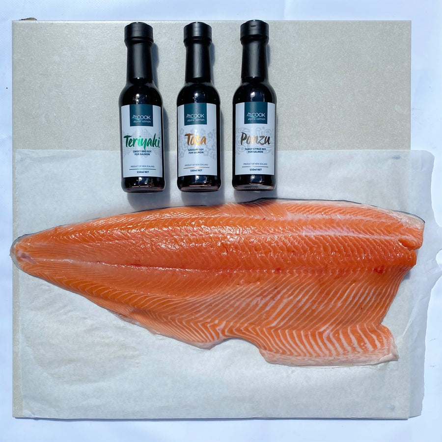 Salmon Savoring Experience Box (Chilled)