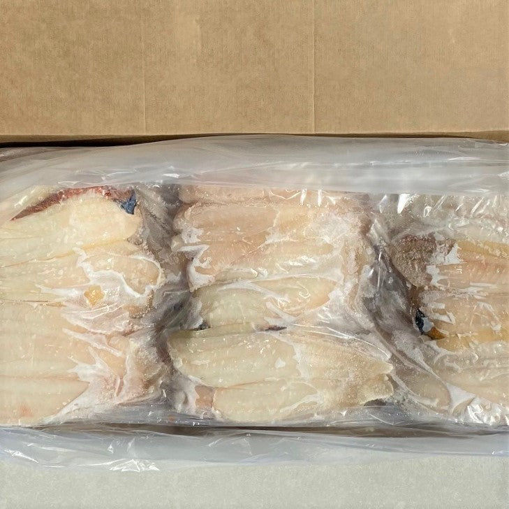 Frozen NZ Sole Fish Fillets (Skin Off, Bone Out)