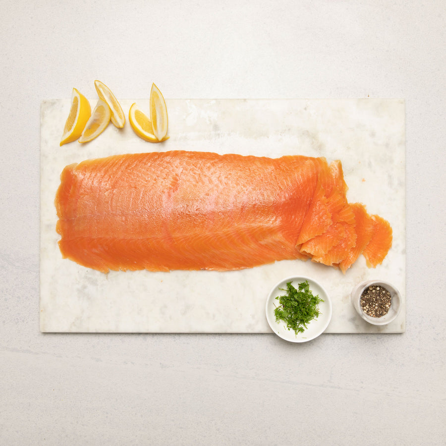 Aoraki Salmon Cold Smoked Sliced