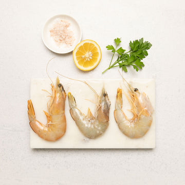 Frozen Australian Banana Prawns Whole (Raw)