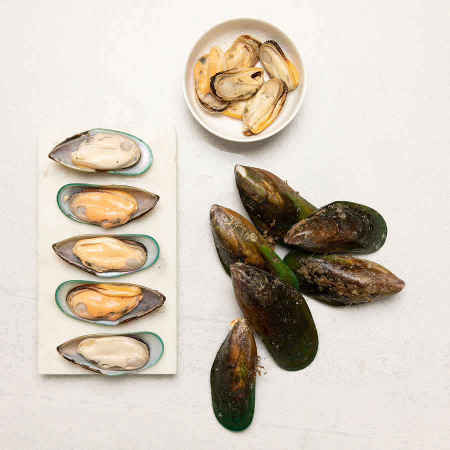 NZ Green Lip Mussels