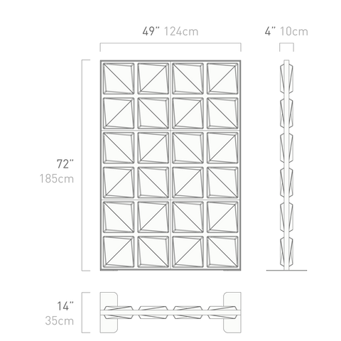 shift wall dimensions