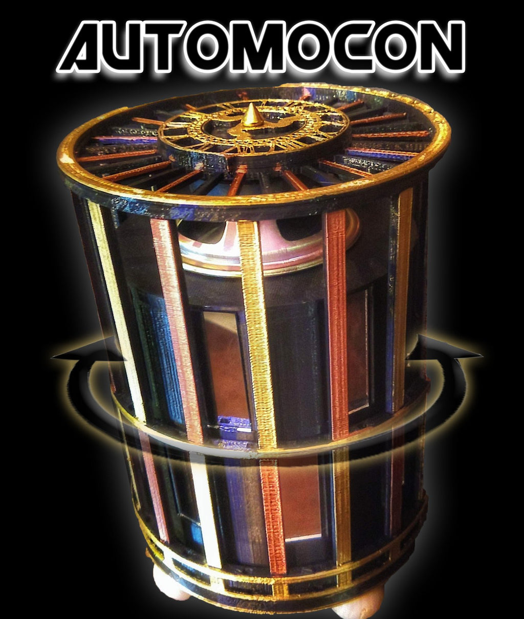 Automocon - Random Sweep Scrying Mirror & Ghost Box
