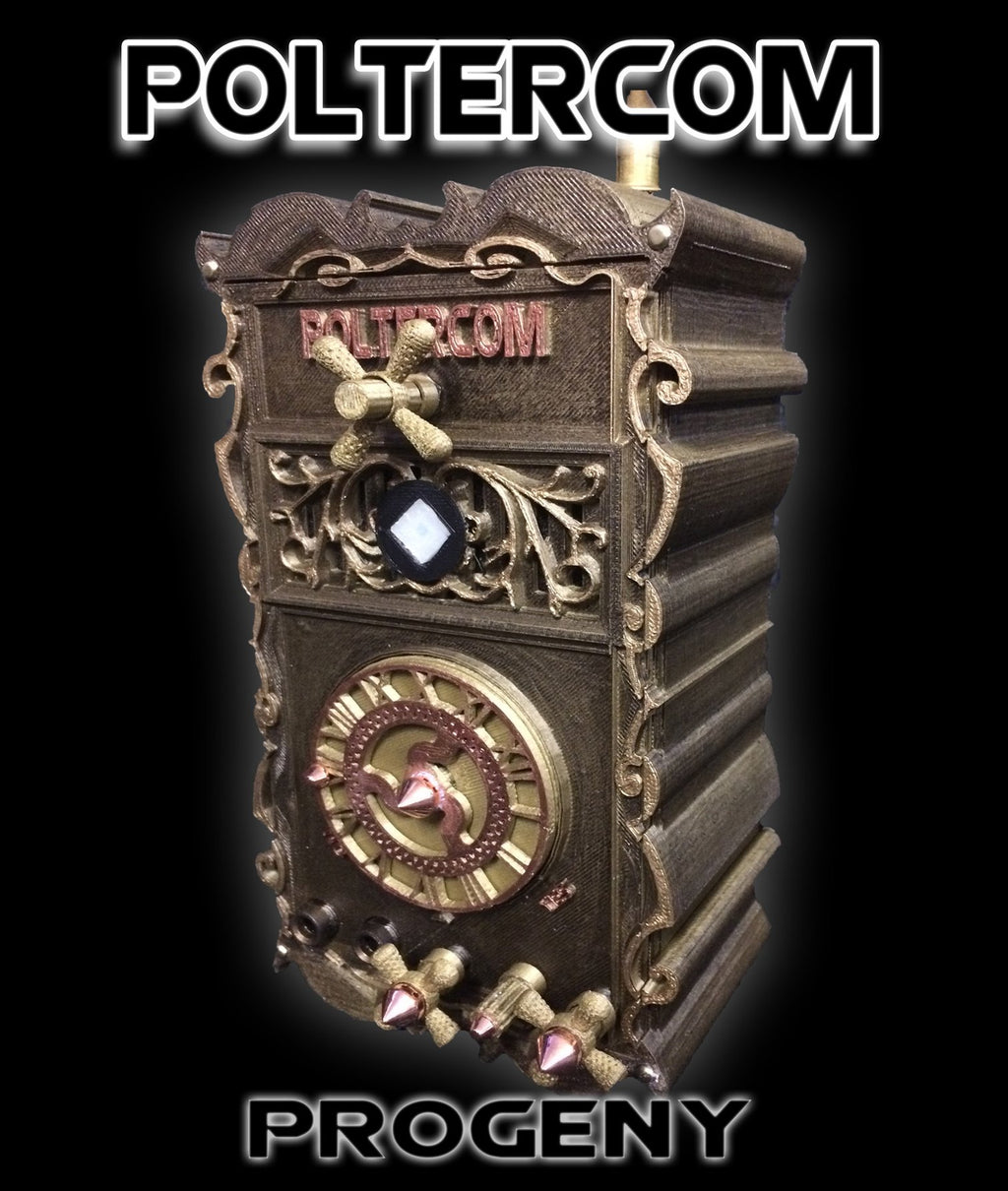 Poltercom Progeny -  Intelligent Instrumental Transcommunication Spirit/Ghost Box