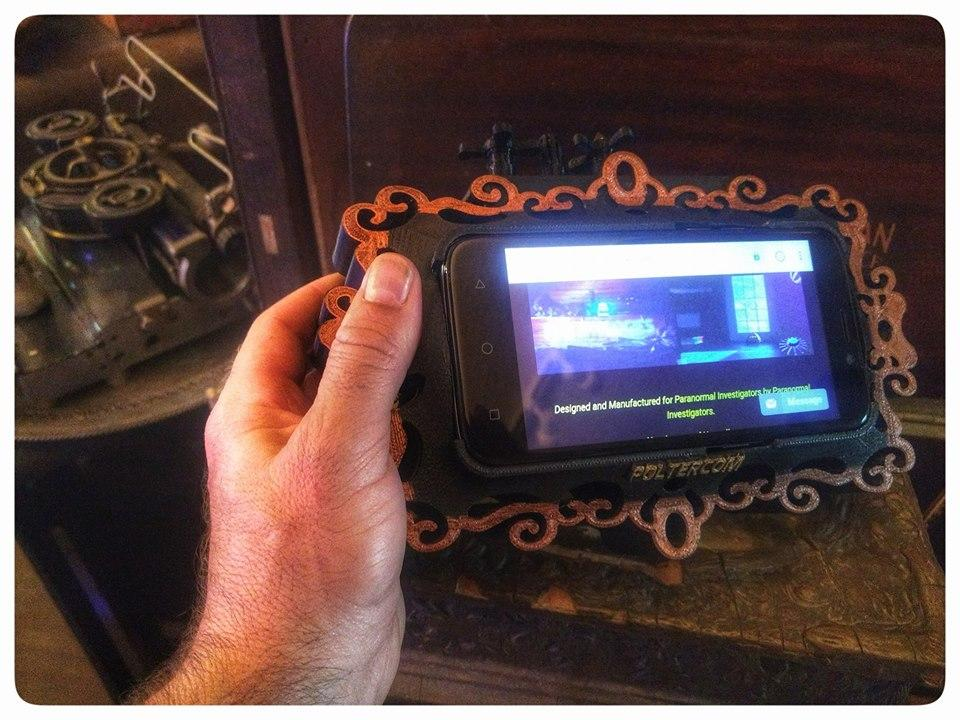 Poltercom PDA - ITC Ghost Hunting App Assistant
