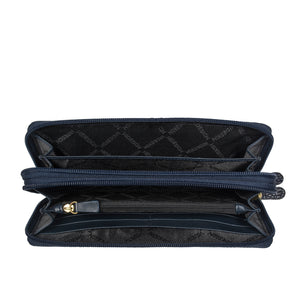 EE TAURUS W2 DOUBLE ZIP AROUND WALLET
