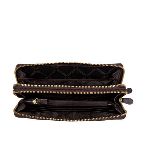 FREEDOM W1 DOUBLE ZIP AROUND WALLET