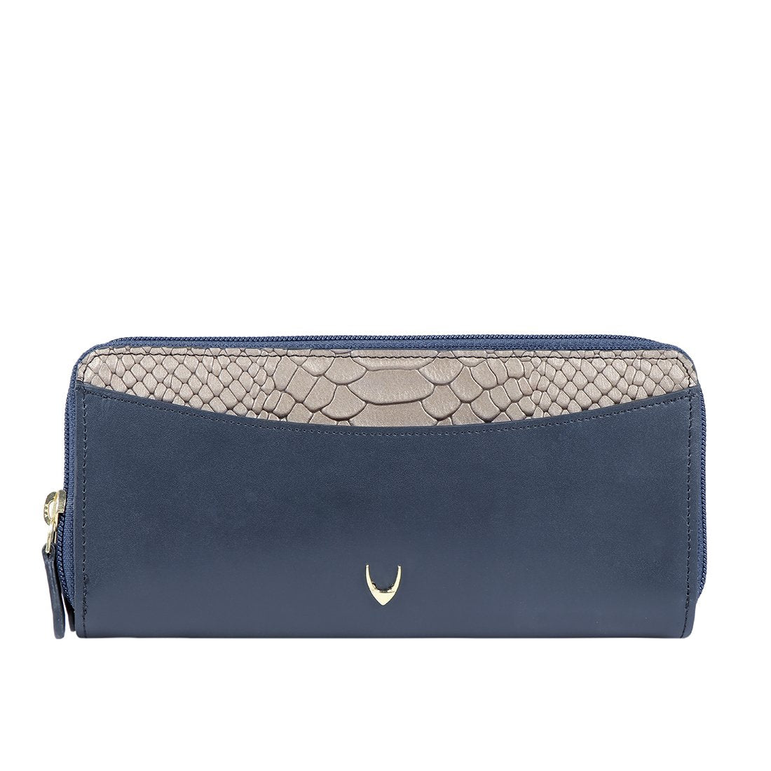LILAC W1 DOUBLE ZIP AROUND WALLET