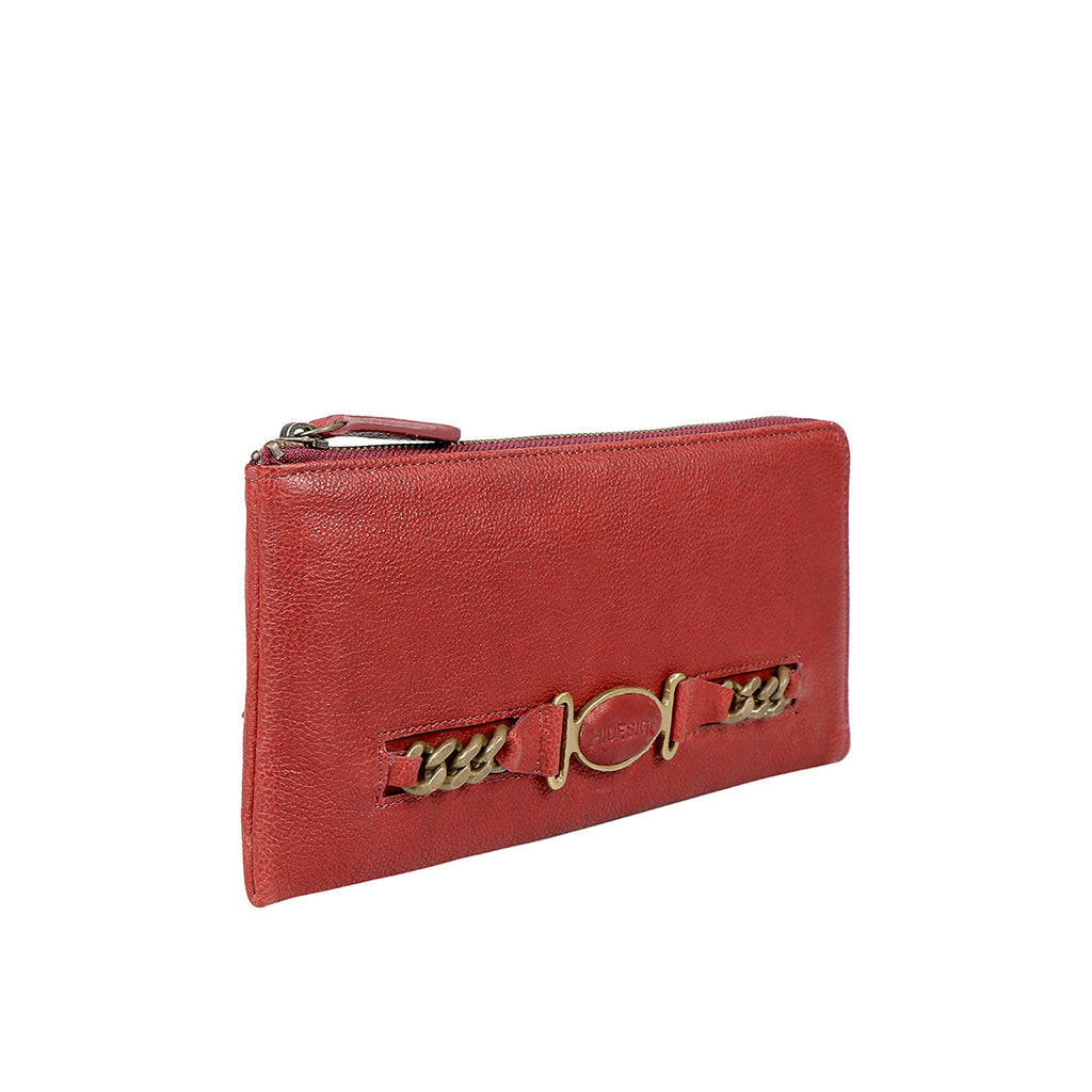 METAL W1 L-ZIP AROUND WALLET