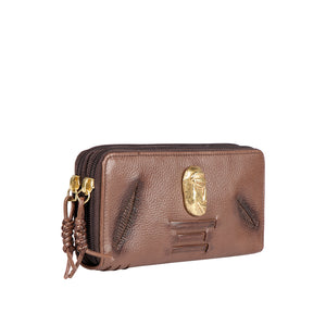SADHAVI W1 DOUBLE ZIP AROUND WALLET