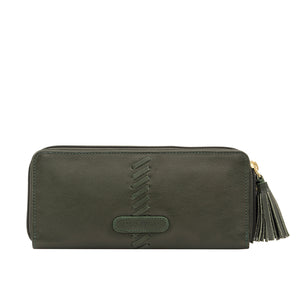 SEBBIE W2 DOUBLE ZIP AROUND WALLET