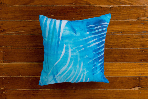UNDERWATER LOVE LINEN CUSHION