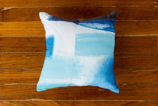 BOAT SHED LINEN CUSHION - STUDIO SALE