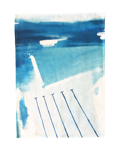 ICEBERGS TEA TOWEL