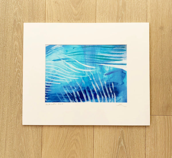 UNDERWATER LOVE PRINT - STUDIO SALE