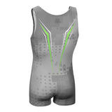 Junior Venom Singlet - Cool Grey
