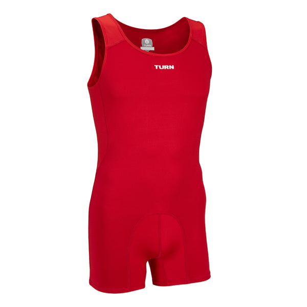 Senior Origins Singlet - Mars Red