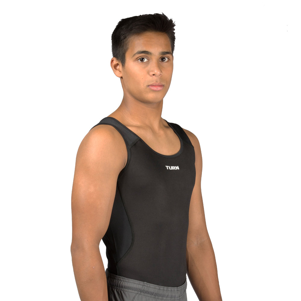 Junior Origins Singlet - Black