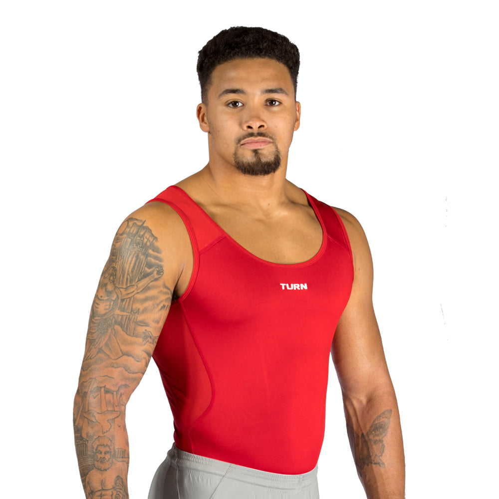 Junior Origins Singlet - Mars Red