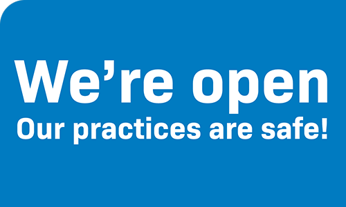 We are now open! Our practices are safe