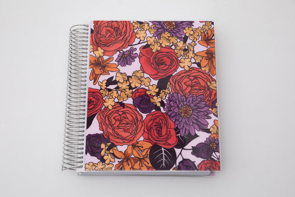 Orchid Peach Undated Planner - goosbytwins