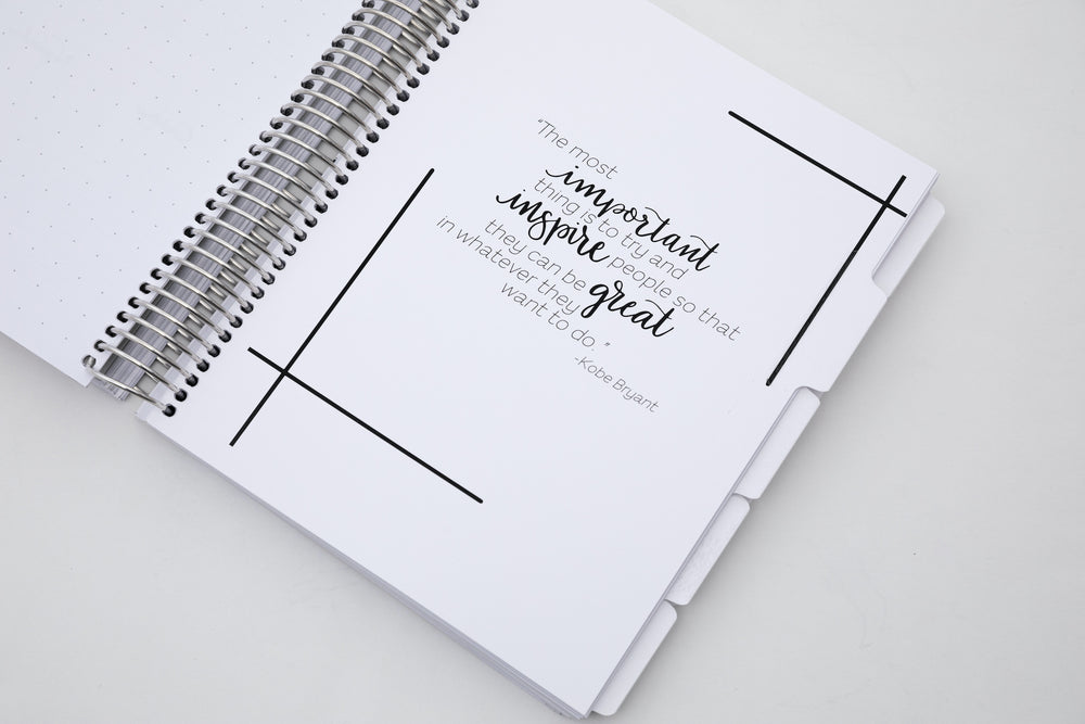 Secret Garden Undated Planner - goosbytwins