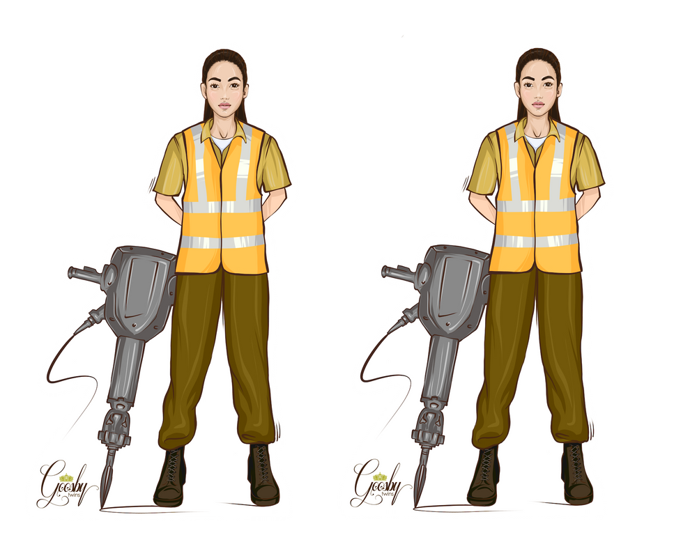 Construction Female Doll