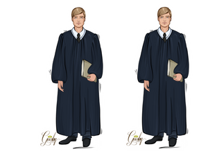 Judge Male Doll